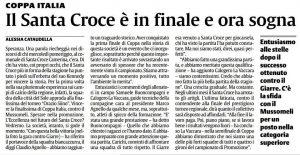 Il Santa Croce in finale!
