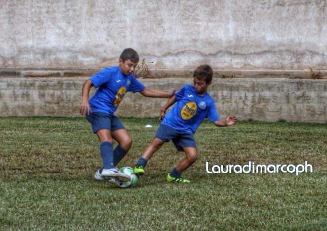 """Scuola Calcio, il S.Croce inaugura la nuova stagione. L'imprenditore Carmelo Pisana rilancia: """"investiamo sullo sport giovanile""""."""