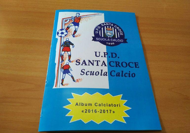 Scuola Calcio U.P.D. Santa Croce: pubblicato il nuovo album calciatori, stagione 2016-2017