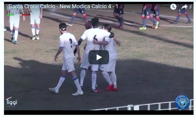 Promozione D, Santa Croce - Modica 4 a 1. Goal e interviste del match.