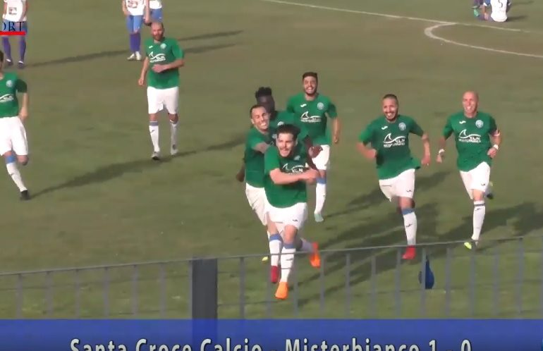 Finale playoff S.Croce - Misterbianco 1-0. Highlights e interviste.