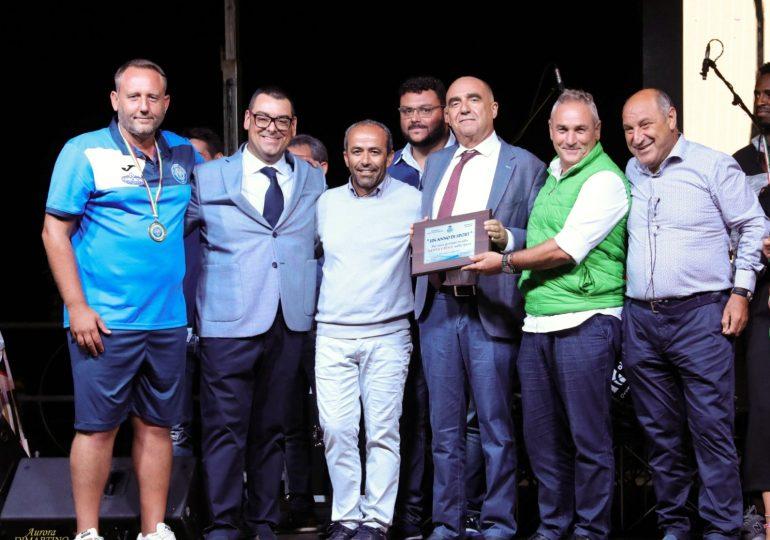 """Il S.Croce premiato alla FdS. Il Presidente M.Agnello:""""Eccellenza difficile ma la città ci è vicina""""."""