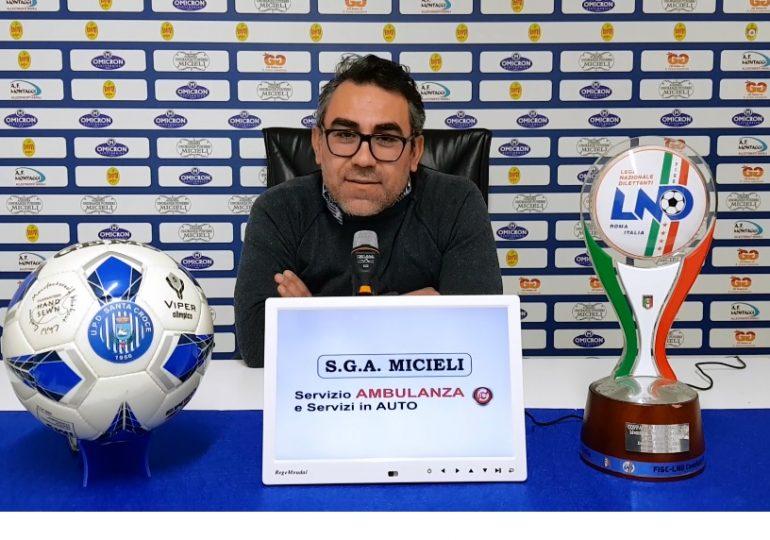 "S.Croce, pari contro l'Atl. Catania. Dirigente Messina: ""Meritavamo di più""."