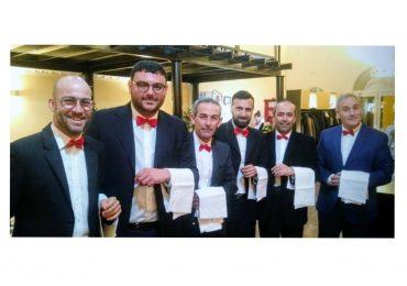 La dirigenza del Santa Croce festeggia S.Valentino, camerieri per una notte!